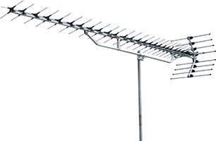高性能形UHF27素子アンテナ(ロー・ミドルチャンネル)YAL114-UL
