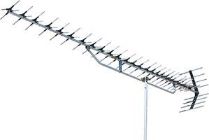 高性能形UHF27素子アンテナ(ローチャンネル)UBL-114D