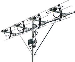 超狭指向性UHFアンテナUA3P4R2
