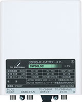 CSBS-IF・CATVブースター(30dB形)CW30L3CH