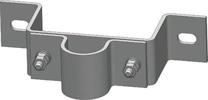側面金具(上・50A用)突出100mmMW-50K-100T