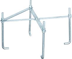 BS・CSアンテナ用マストベース用アンカー(MHB-101B用)MAK-702