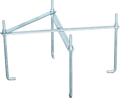 マストベース用アンカー(700角用)MAK-701