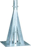 自立形アンテナマストベース(40A・400角用)MHB-40L