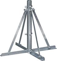 自立形アンテナマストベース(40A用・折りたたみ式)MHB-50K