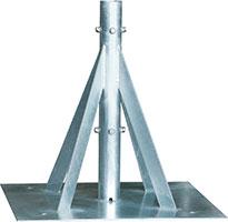 自立形アンテナマストベース(40A用)MHB-50YA
