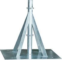 自立形アンテナマストベース(50A用)MHB-65YN