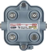 屋外用混合(分波)器(CSBS-IF+UHF・FM(CATV))[2K・4K・8K対応]SHMC1
