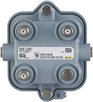屋外用混合(分波)器(UHF+VHF.FM)MCUV7E1