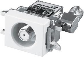 テレビ端子1端子形(1個口用)(フィルター付)[2K・4K・8K対応]SH7FS11
