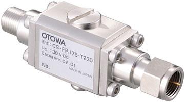 TV同軸ケーブル用避雷器CS-FPJ75-T230