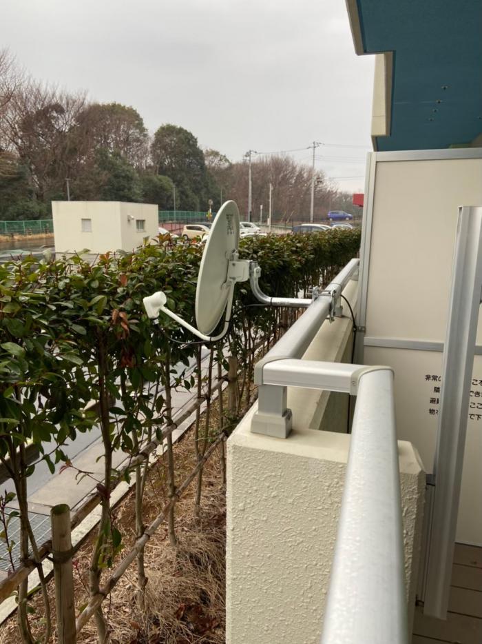 鎌ヶ谷市初富|BS・CSアンテナ工事