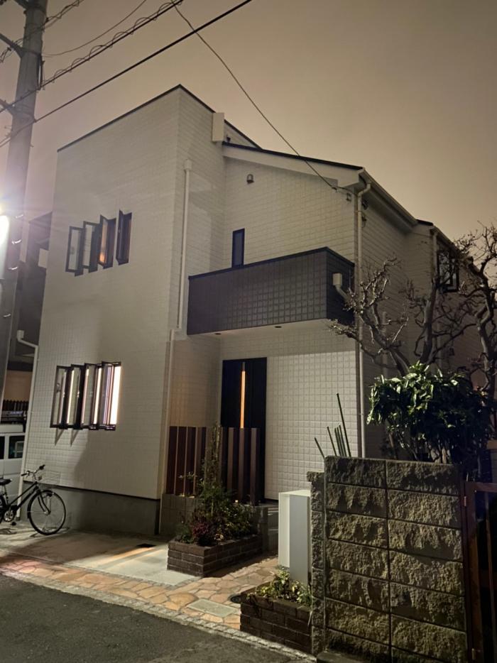 小金井市中町|デザインアンテナ工事・BS・CSアンテナ工事