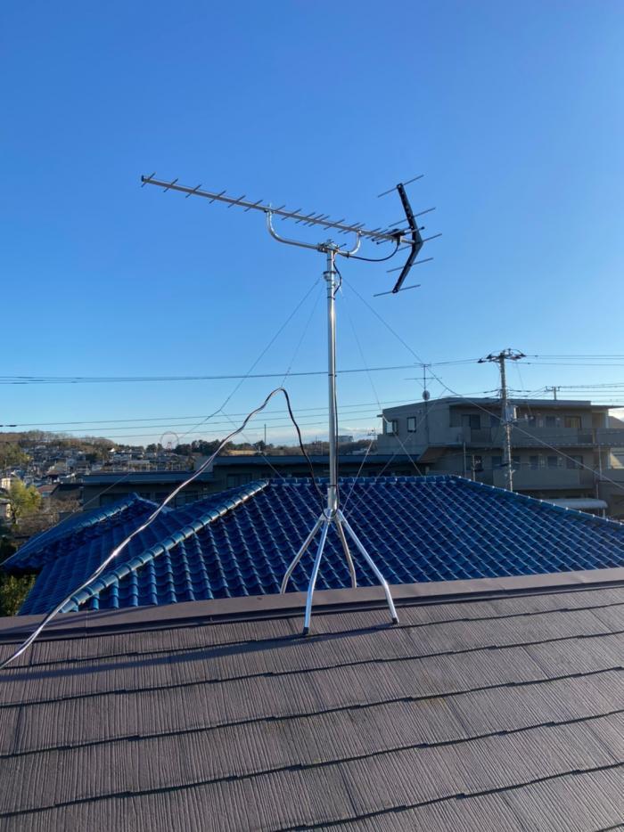 所沢市山口|八木式アンテナ工事