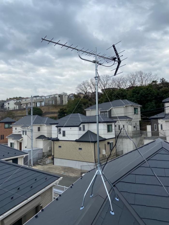 栄区中野町|八木式アンテナ工事