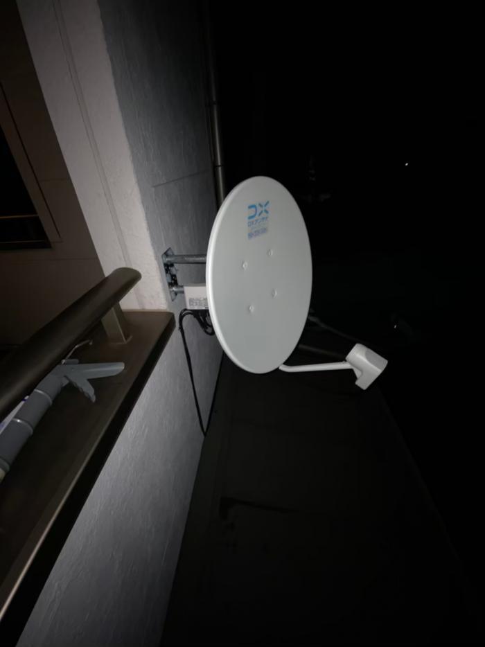 中原区宮内|デザインアンテナ工事・BS・CSアンテナ工事