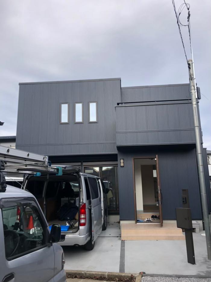 所沢市久米|デザインアンテナ工事