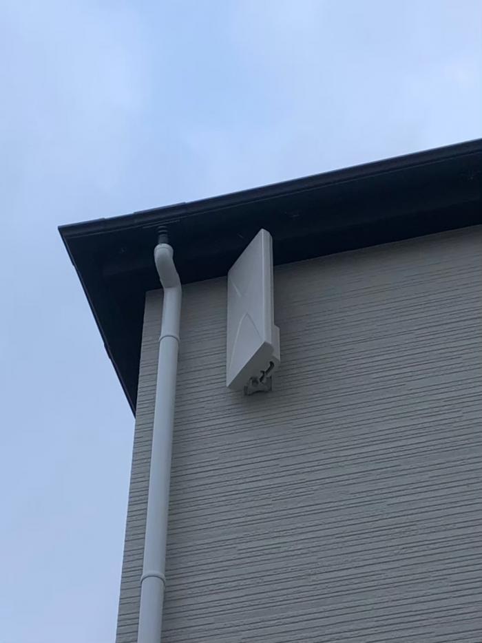 鶴ヶ島市中新田|デザインアンテナ工事|ケーアイスター