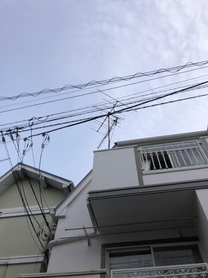 世田谷区若林|アンテナ撤去工事