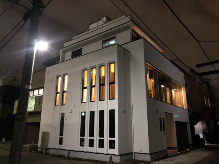 渋谷区東|高性能デザインアンテナ+BSアンテナ工事