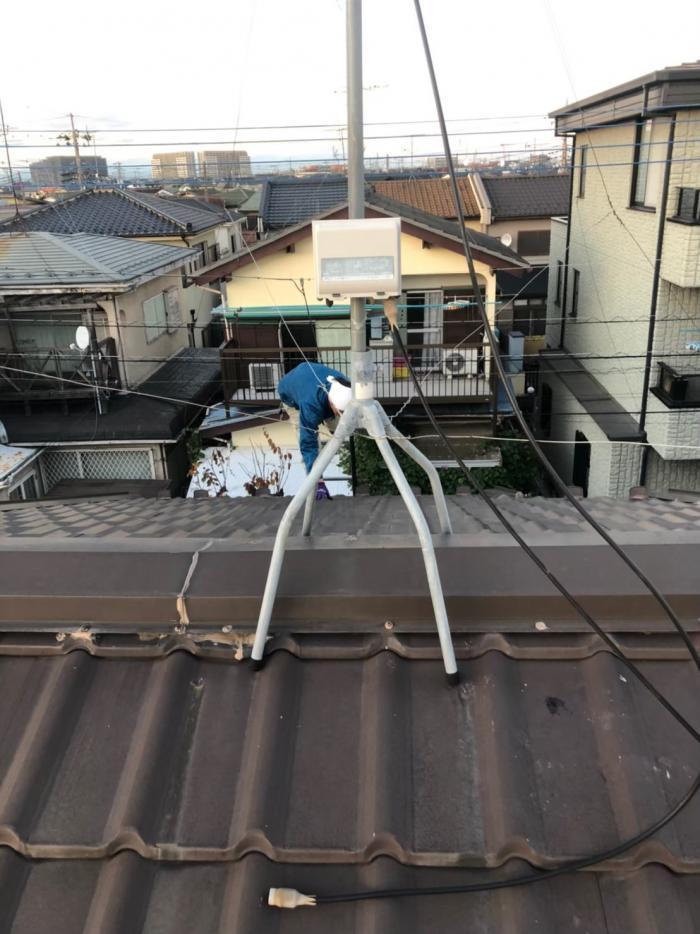川越市牛子|配線復旧工事