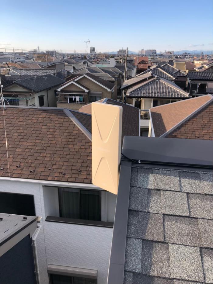 久喜市久喜東|デザインアンテナ工事|住宅情報館