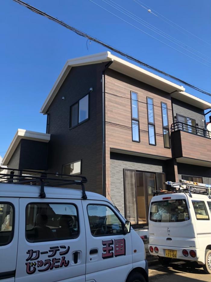 所沢市上安松|デザインアンテナ+ 4KBSアンテナ工事