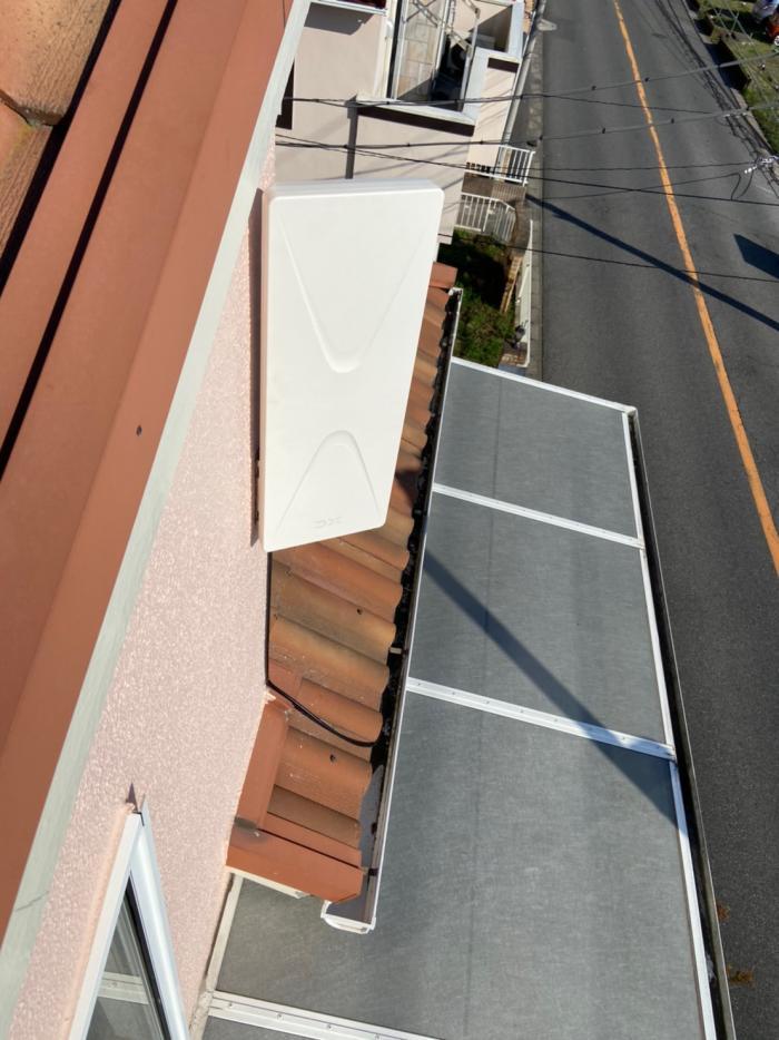 千葉市中央区白旗|デザインアンテナ工事
