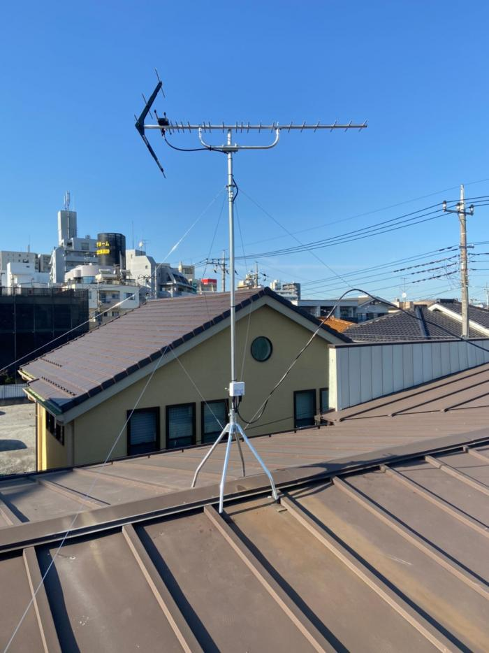 所沢市緑町|八木式アンテナ工事