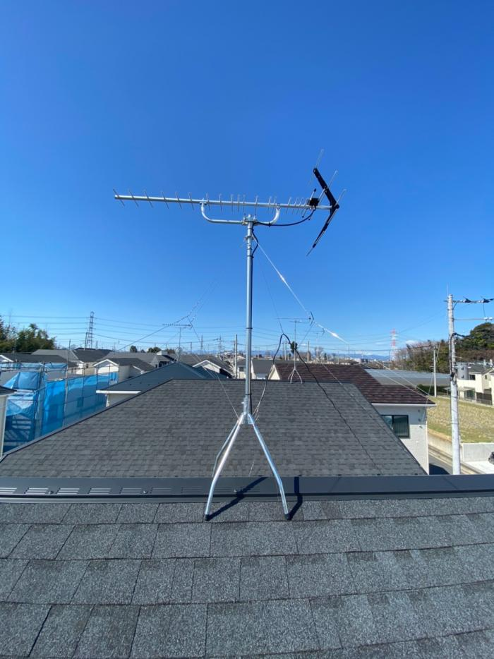 桶川市坂田西|八木式アンテナ工事