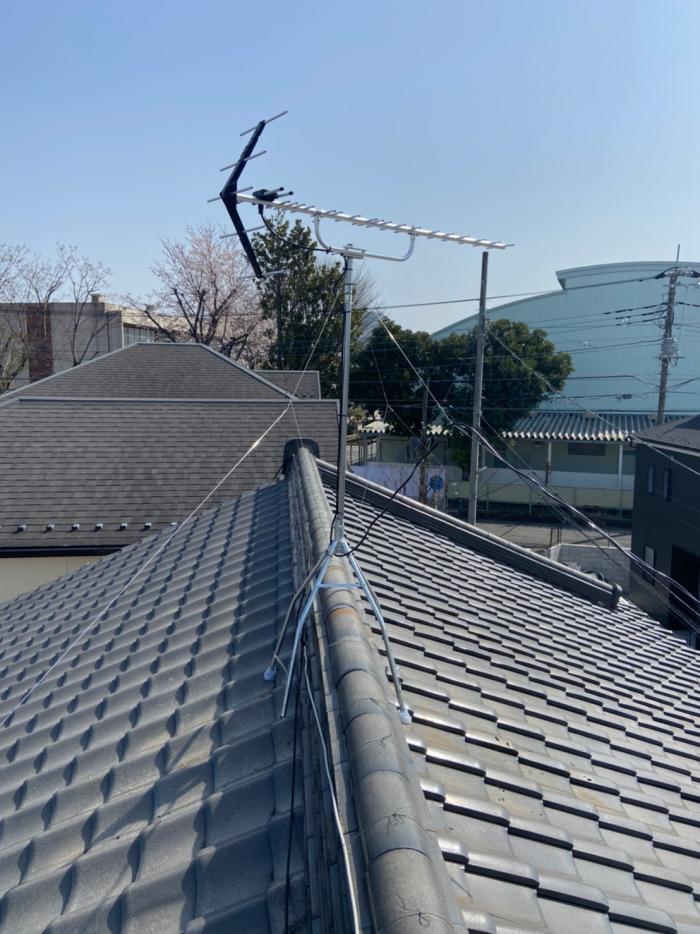 さいたま市大宮区三橋|八木式アンテナ工事