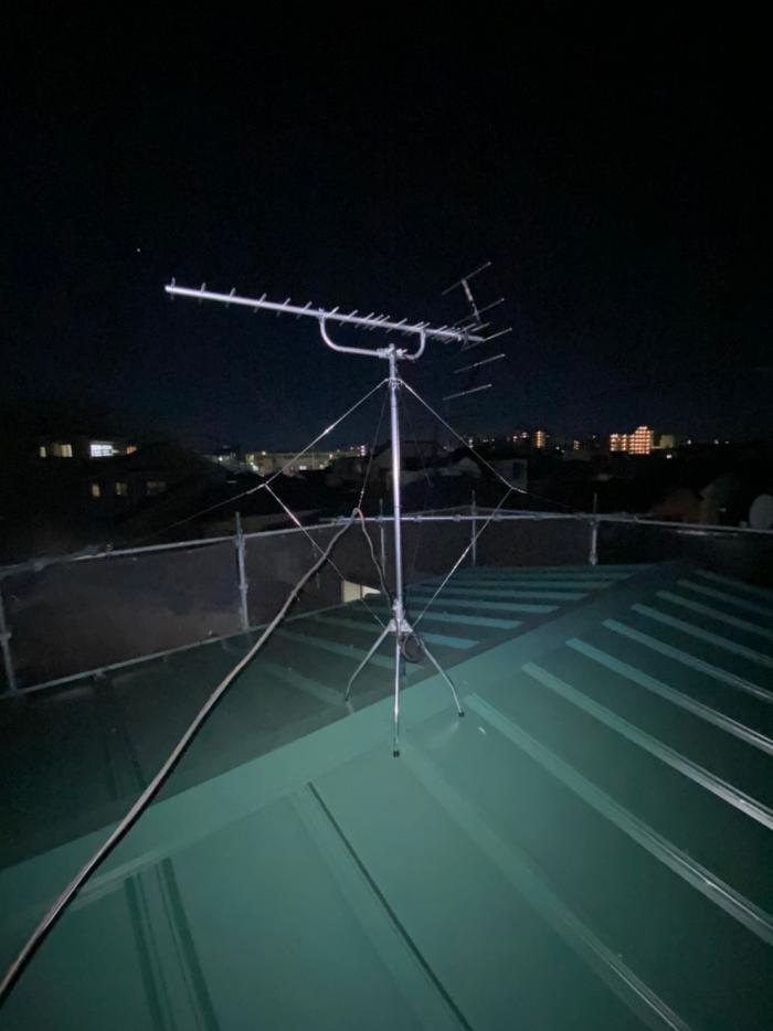 葛飾区堀切|八木式アンテナ工事