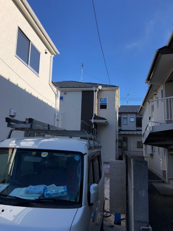 上尾市向山|UHFアンテナ工事|一建設