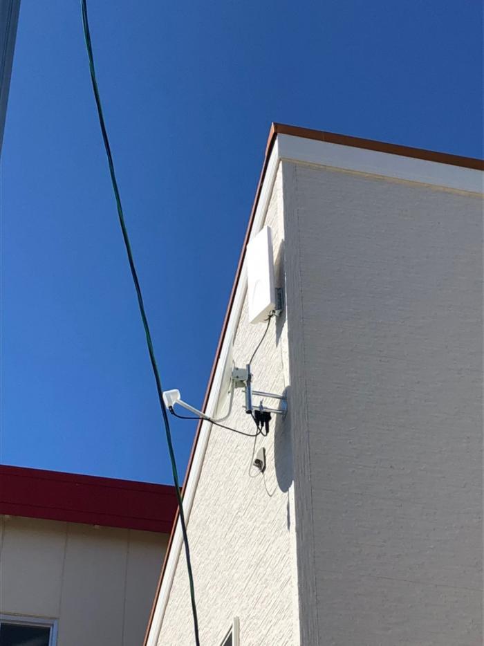 三郷市戸ヶ崎|デザインアンテナ+BSアンテナ工事