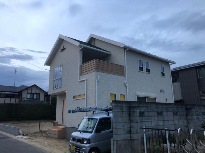 上尾市壱丁目|デザインアンテナ工事
