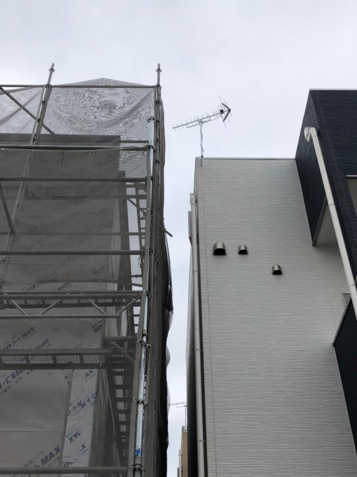 さいたま市緑区美園|UHFアンテナ工事