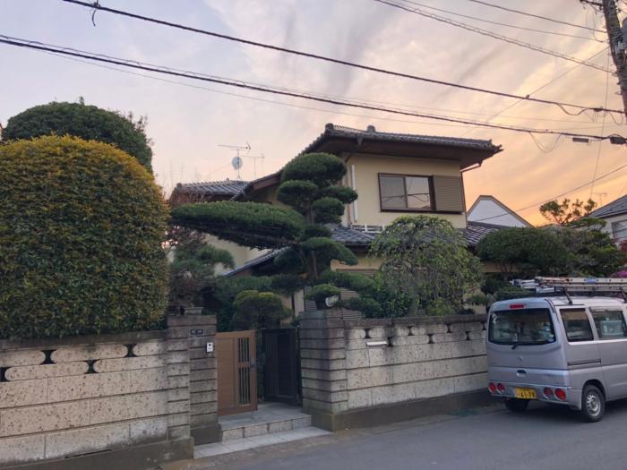 上尾市春日|UHFアンテナ+BSアンテナ工事