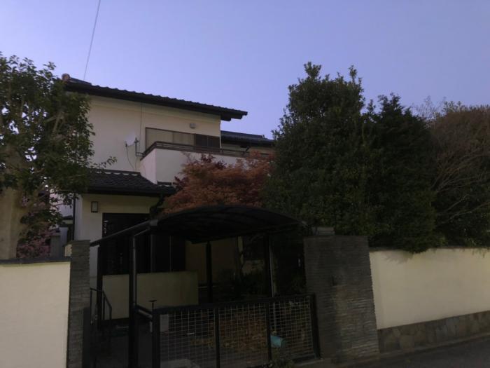 松戸市常盤平|デザインアンテナ+BSアンテナ工事