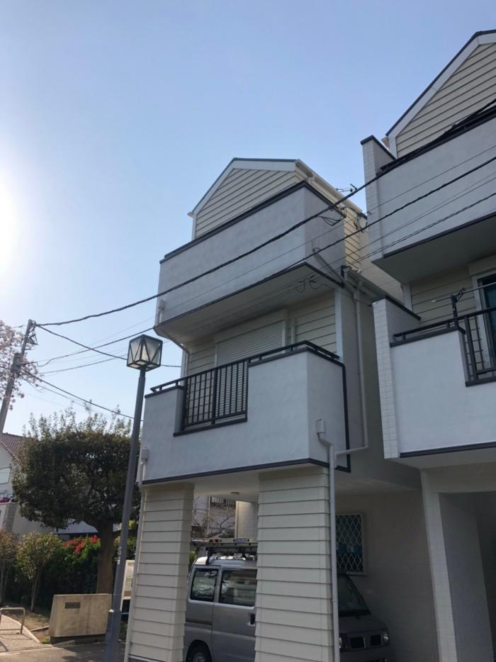 栄区小菅ケ谷|UHFアンテナ+BSアンテナ工事