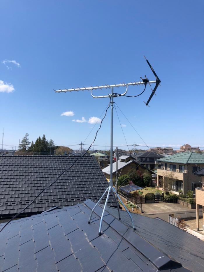 阿見町すずき|UHFアンテナ工事