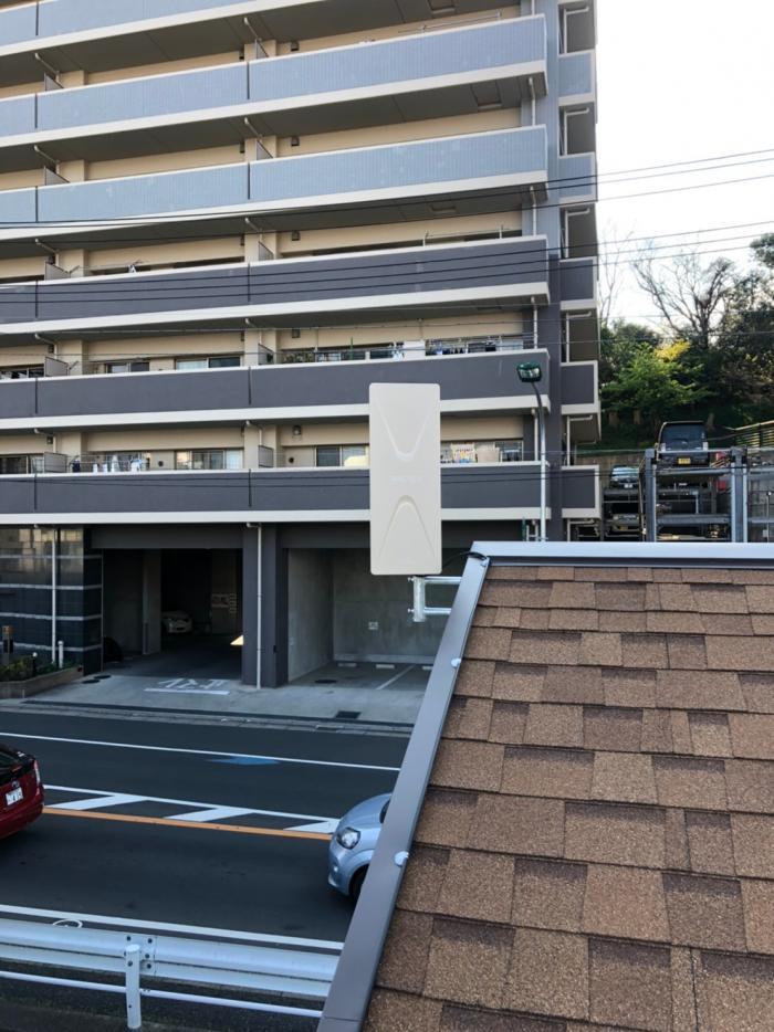 松戸市松戸|デザインアンテナ工事
