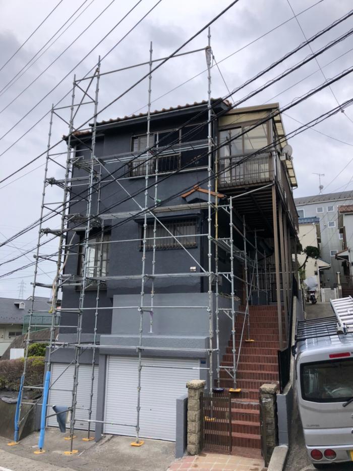 高津区東野川 デザインアンテナ工事