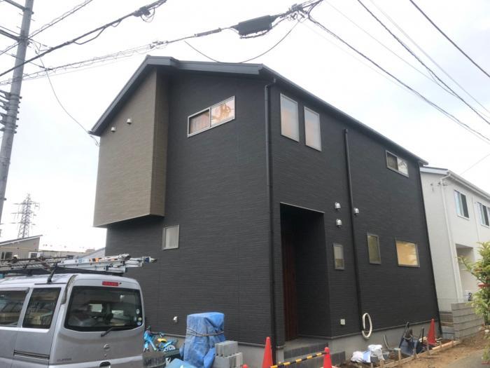 さいたま市緑区原山|デザインアンテナ+BSアンテナ工事