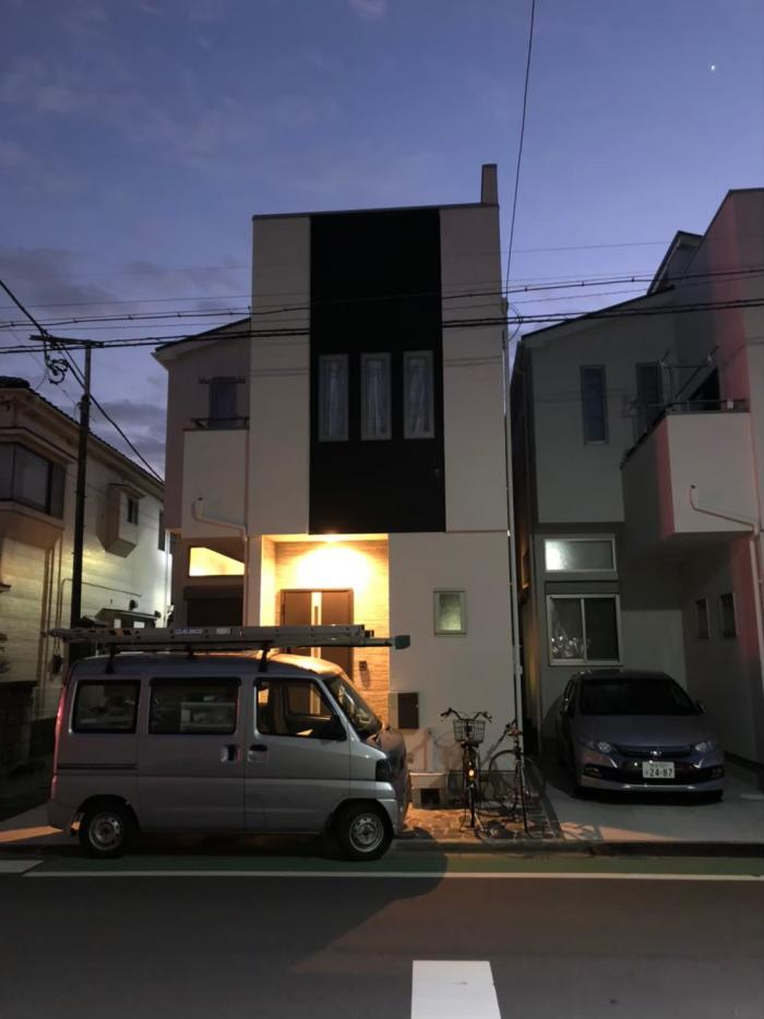 上尾市本町|デザインアンテナ工事|ライズホーム