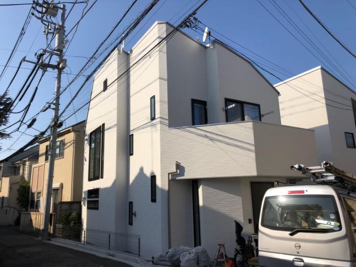 大田区山王|デザインアンテナ+BSアンテナ工事