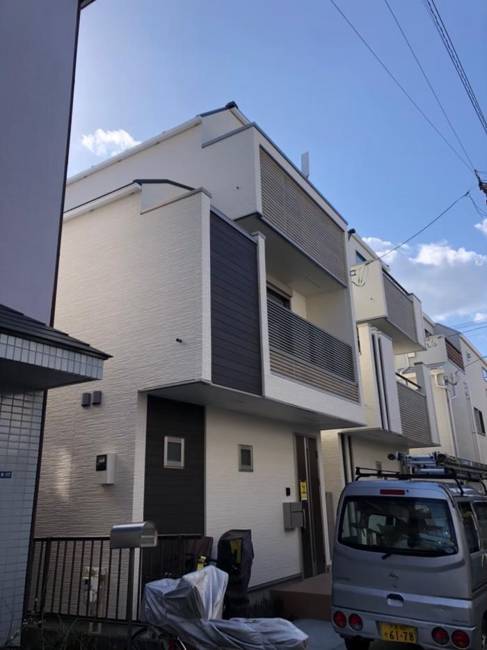 大田区西蒲田|デザインアンテナ工事|オープンハウス