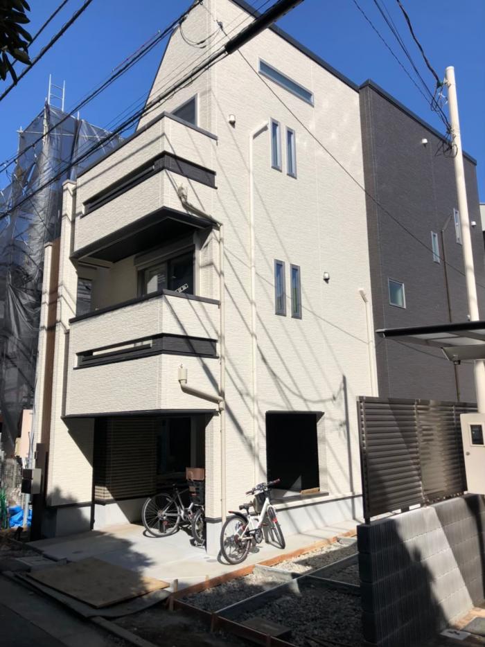 杉並区高井戸東|デザインアンテナ工事|オープンハウス
