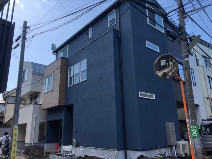世田谷区北沢|デザインアンテナ+BSアンテナ工事|三菱地所ホーム