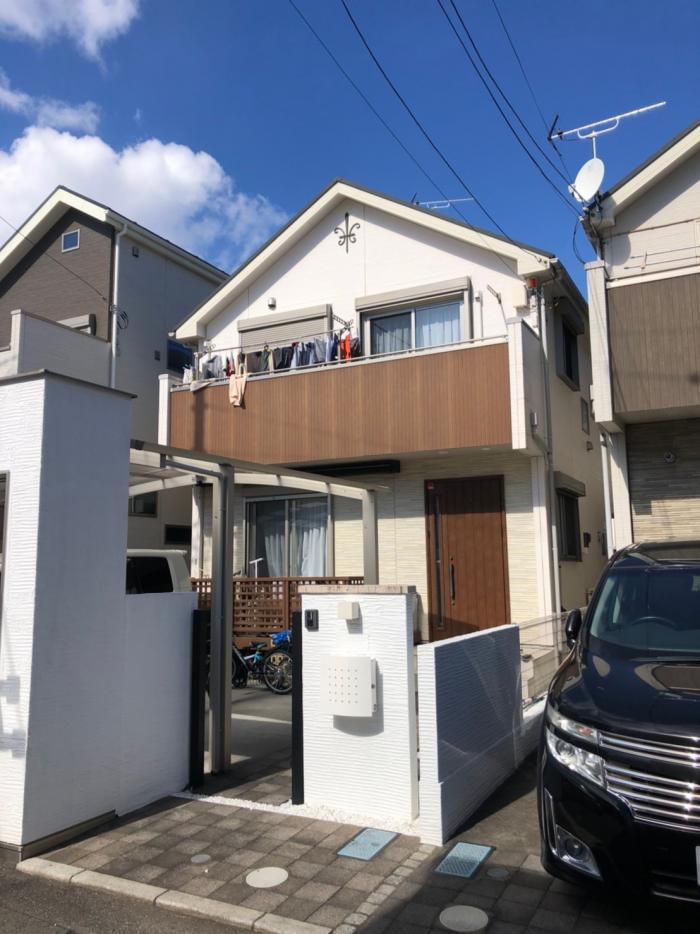 小金井市前原町|UHFアンテナ+BSアンテナ工事