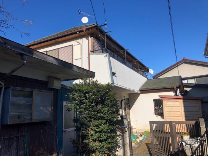 立川市柴崎町|UHFアンテナ+BSアンテナ工事